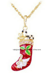Christmas Jewelry/Christmas Necklace/Christmas Pendants (XJW13334) pictures & photos