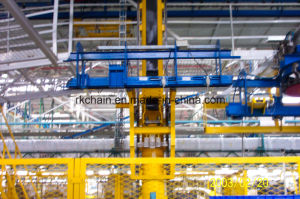 Overhead Chain Conveyor System (load bar, chain, trolley, trolley carrier) pictures & photos