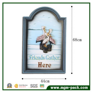 Creative Embossment Painting with Wooden Frame pictures & photos