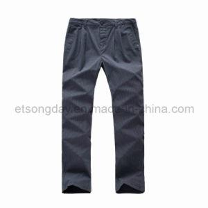 Dark Gray Cotton Spandex Men′s Trousers (GA124) pictures & photos