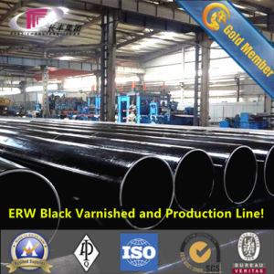 ERW Steel Piling Pipe 660.4*17.48 (SCH40) for Building Foundation pictures & photos