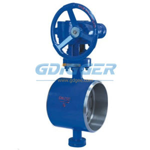 PTFE Lined Butterfly Valve Welded Connection (DG028)