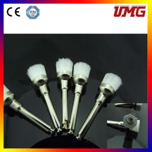 Disposable Dental Prophy Brush with Metal Handle pictures & photos