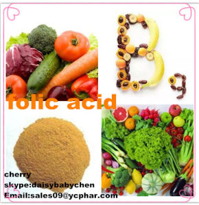 High Quality Folic Acid CAS No: 59-30-3, Vitamin B9 Supply pictures & photos