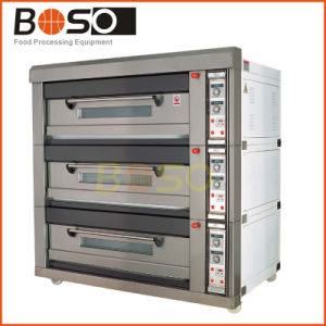 Baking Pizza Oven Single/Double/Three/Four Decks Gas Pizza Deck Oven pictures & photos