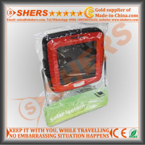 Mini Solar Powered Camping Lantern with 4 SMD LED (SH-2004) pictures & photos