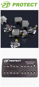 Protect Orthodontic Super Brackets with Sandblasted Base pictures & photos