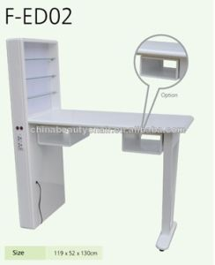 Durable Marble Single Manicure Table for Nail Salon (TKN-ED02) pictures & photos