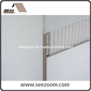 Champagne Aluminum Tile Edging Profile