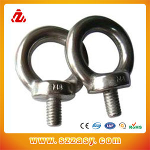 Stainless Steel DIN444 DIN580 Eye Bolts Chinese Manufacturers pictures & photos