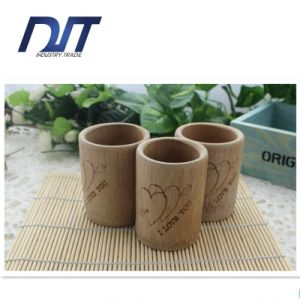 Custom Logo Safety Healthy Drinking Bamboo Tea Cup pictures & photos