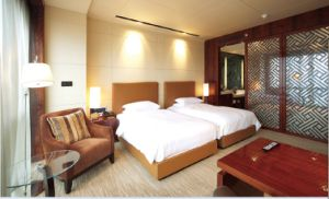 Standard Hotel Double Room Suite/Hotel Luxury Double Bedroom Furniture/Star Hotel Double Bedroom Furniture (GLB-00001) pictures & photos