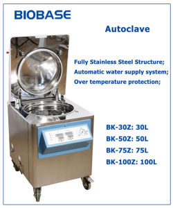 Stainless Steel Steam Vertical Autoclave pictures & photos