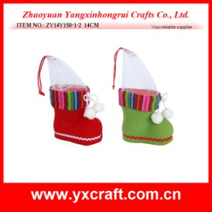 Felt Xmas Boot Shoe Christmas Ornament Promotion Gift Item pictures & photos