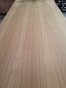 Teak/Red Oak Fancy Plywood for Furniture