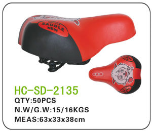 Cartoon Leather BMX Saddle (SD-2135) pictures & photos