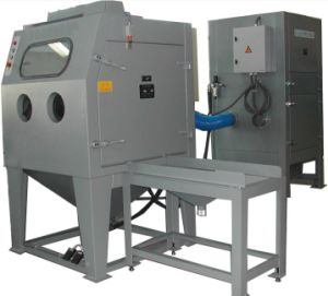 Dry - Suction Sandblasting Machine for Medium-Sized Parts or Batch Processing pictures & photos
