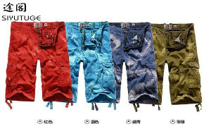 Lapfull New Stylemen Board Shorts Garment Dyed pictures & photos