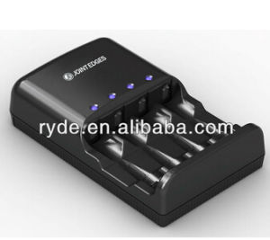 4 Slot AA/AAA NiMH LED Smart Battery Charger