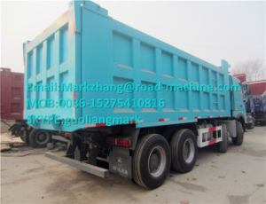 Hot Sale Sinotruck HOWO A7 8X4 50t Dumper Truck 336/371HP Africa pictures & photos