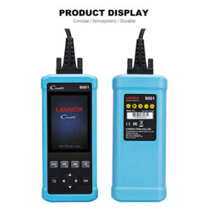 2017 New Launch DIY Code Reader Creader 8001 Cr8001 Full OBD2 Scanner with Oil Resets Service pictures & photos