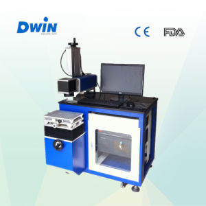 Portable 10W Fiber Metal Laser Marking Engraving Machine pictures & photos
