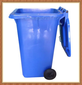 China 240L Outdoor Sanitation Plastic Trash Bin for School pictures & photos