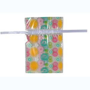 Printed Double Layer Drawstring Bags for Food (FLS-8042) pictures & photos