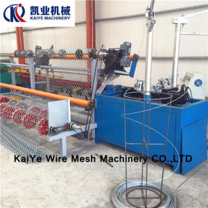 Full Automatic Chain Link Fence Mesh Machine pictures & photos
