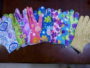 Nice Garden Glove Flower Print pictures & photos