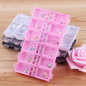 Empty Manicure Art Nail Container Beauty Case Storage Box (C24) pictures & photos