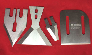Recycling Blades for Ngr Plastics and Pelletizer Knives HSS Material pictures & photos