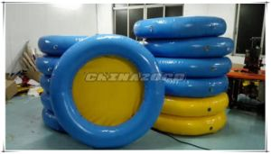 New Custom Made Airtight Inflatable Water Floating Mat pictures & photos
