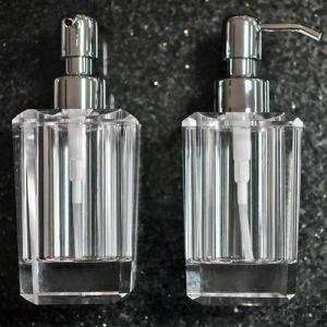 Crystal Soap Dispenser, Washing Bottle