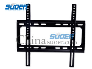 """Suoer High Quality LCD TV Wall Mount 26"""" to 60"""" TV Mounting Bracket Base Strengthen TV Mount (LCD-2660A (Red Box-Base Strengthen)) pictures & photos"""