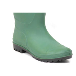 Rain Boots (Green upper/Black Sole) pictures & photos
