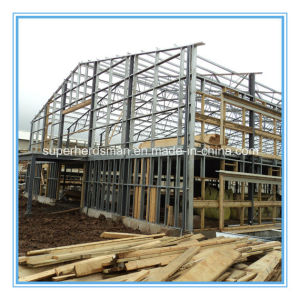 Prefabricated Low Cost High Quality Steel Structure for Chicken House pictures & photos