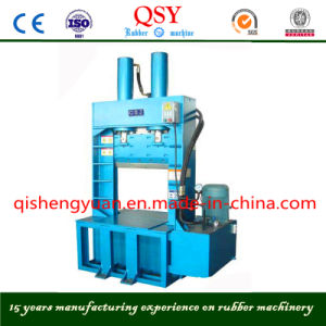 Hydraulic Guillotine Crepe Rubber Sheet Cutter Machine pictures & photos