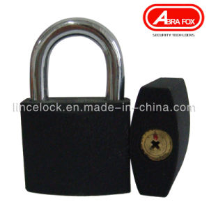 Grey Iron Padlock, Black Iron Padlock with Cross Key (303A) pictures & photos