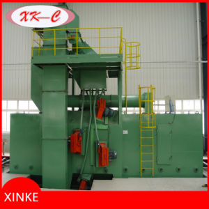 Roller Conveyor Shot Blasting Machine for Cleaning I Beam H Beam Steel Structure pictures & photos