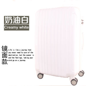 Pinkycolor ABS+PC Trolley Luggage Bag with White Accessories pictures & photos
