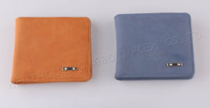 High Quality New Men Coin Leather Wallet (HAW0402) pictures & photos