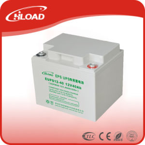 12V40ah AGM Gel VRLA Deep Cycle Battery pictures & photos