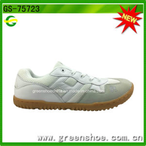 Factory Lower Price Footwear Casual Sport Shoes White Badminton Shoes pictures & photos