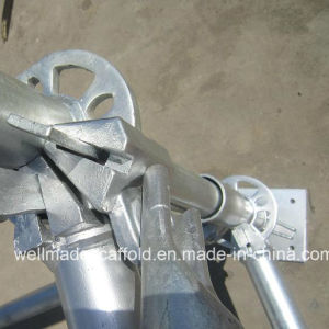 Construction Scaffolding Q345 Heavy Ringlock|Shore Lock Scaffolding pictures & photos