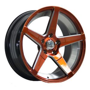 17 Inch New Color Painted Inner Groove Alloy Car Wheel pictures & photos