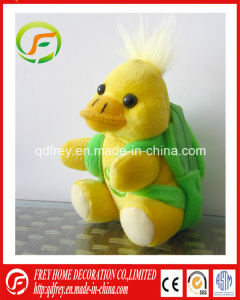 OEM Plush Soft Yellow Duck with Backpack for Baby pictures & photos