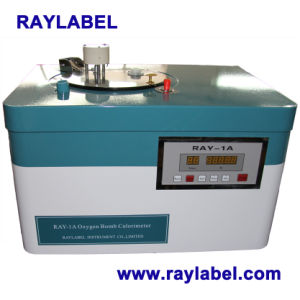 Oxygen Bomb Calorimeter for Lab Instrument (RAY-1A) pictures & photos