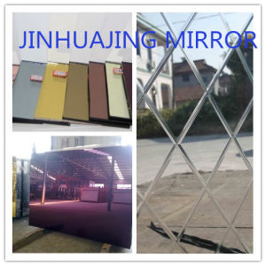 3-10mm Mirror Glass/ Colored Mirror/ Furniture Mirror pictures & photos