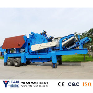 Good Performance Rubber-Tyred Stone Mobile Crusher pictures & photos
